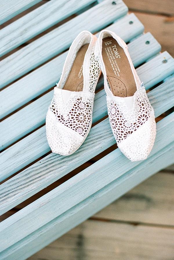Great Beach Bridal Shoes Ideas 7