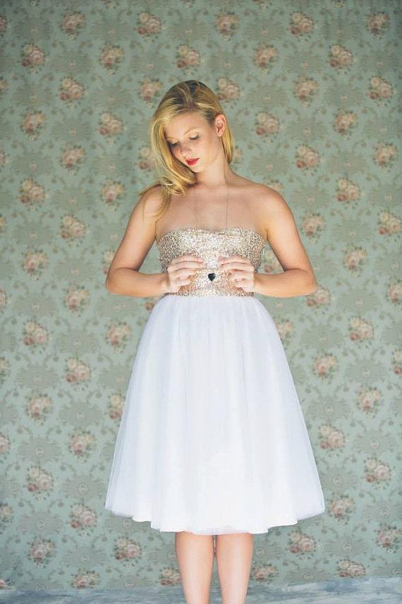 Destination Wedding Dresses Knee Length