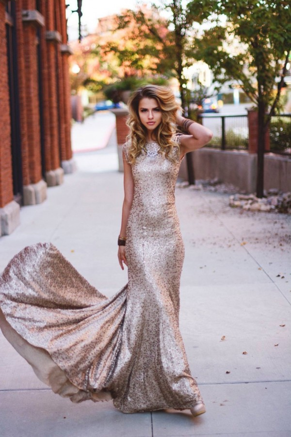 Amazing Sequin Dress