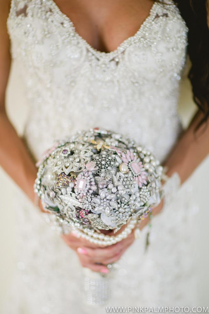 Lovely brooch bouquet