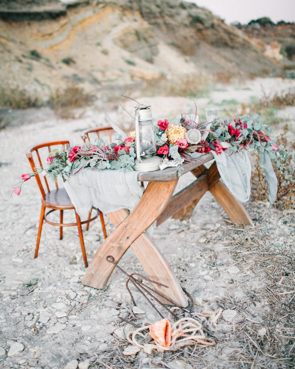 Lovely wedding table decor