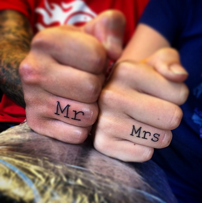 Best Wedding Tattoo Ideas For The Rebel in You Beach Wedding Tips