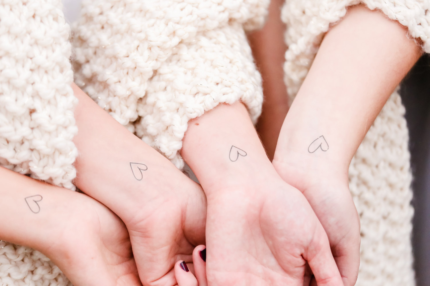 Bachelorette party temporary tattoos