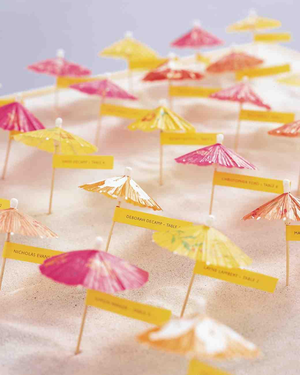20 Wonderful Escort and Place Card Ideas for a Beach Wedding – Beach ...