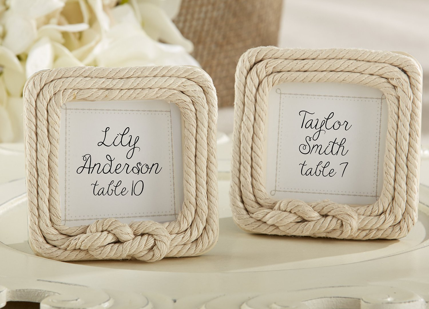 Rope Placecard Holders
