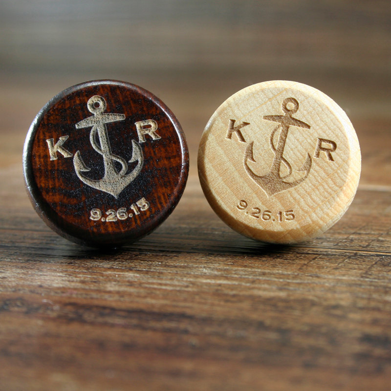 Monogrammed Anchor Favors