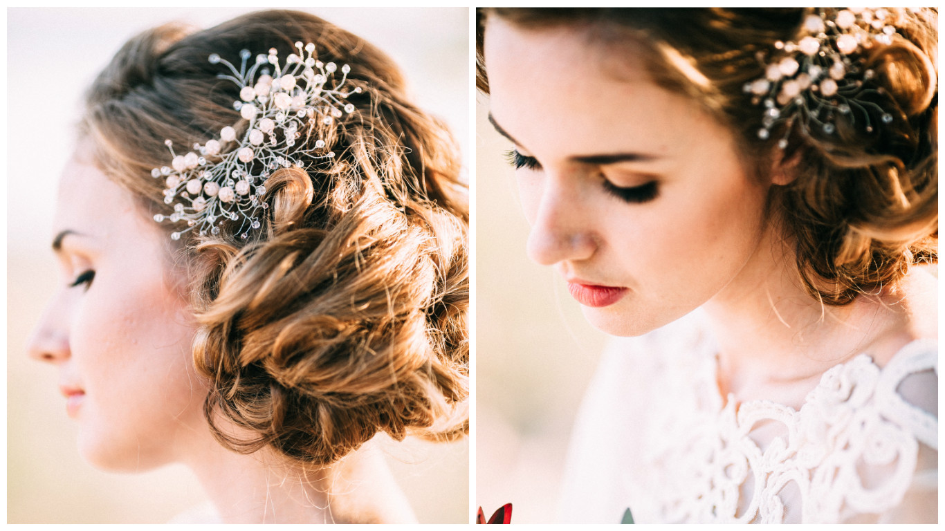 Elegant Bridal Hair Accessory