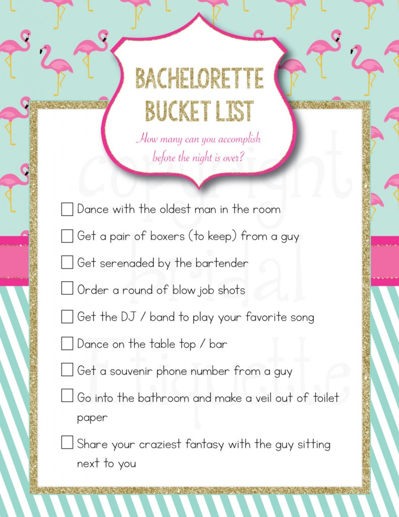 Top Picks For a Flamingo-themed Bachelorette Party – Beach Wedding ...