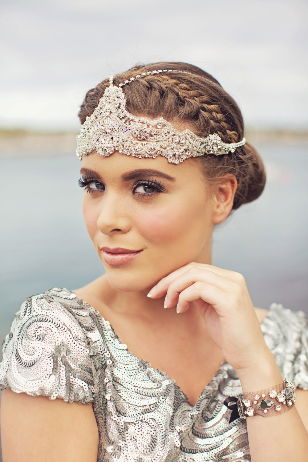 Beautiful statement headpiece