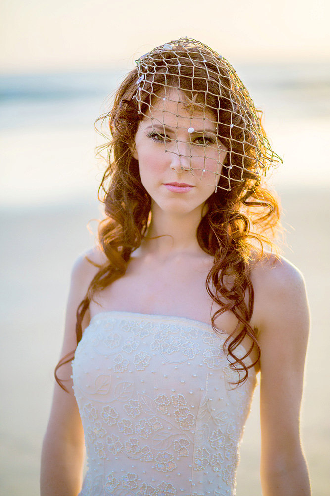 Great Wedding Veil Alternatives For A Beach Bride Beach