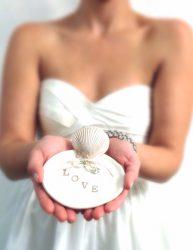 Beach Wedding Ring Bearer Dish