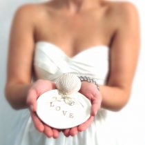 Beach Wedding Ring Bearer Dish