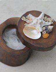 Wood Wedding Ring Box