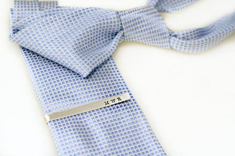 Hand Stamped Tie Bar