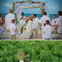 Intimate Beach Wedding in Punta Cana