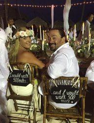 Beach Wedding Chair Decoration