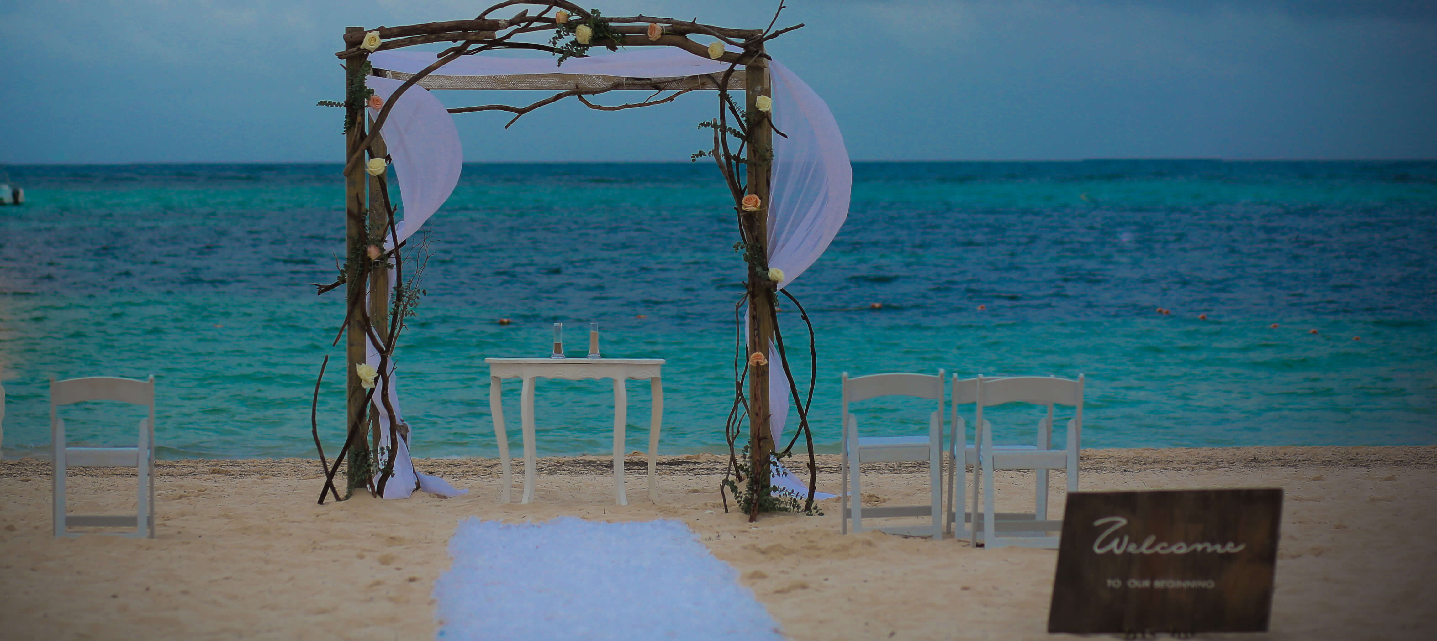 Simple Ceremony Arch