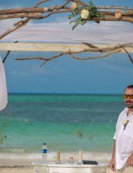 Groom Awaits the Bride