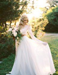 Fairy Two-Piece Wedding Dress