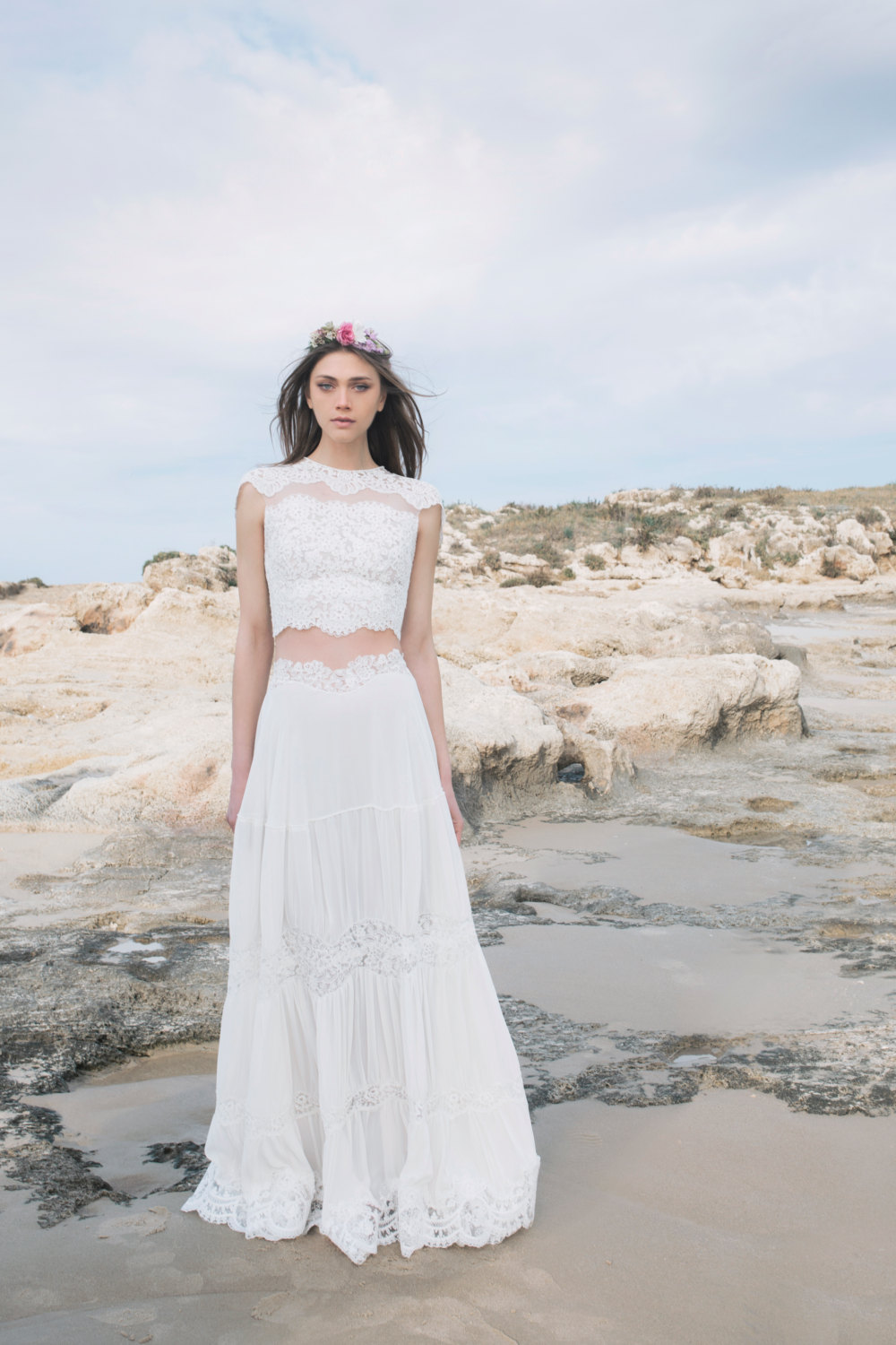 Two-Piece Wedding Dresses for the Non-Traditional Bride – Beach ...