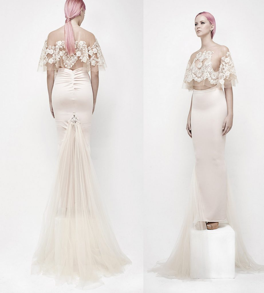 Two-Piece Wedding Dresses For The Non-Traditional Bride