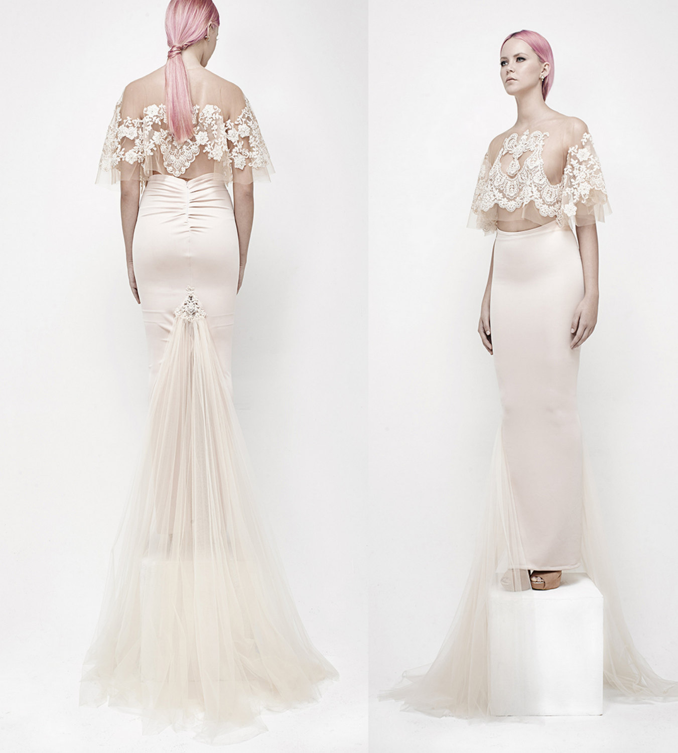 Elegant bridal separates