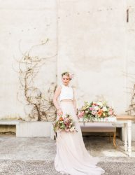Romantic bridal separates