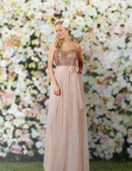Beautiful bridesmaid's dress