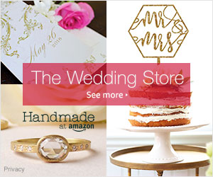 Shop wedding accessories on Amazon