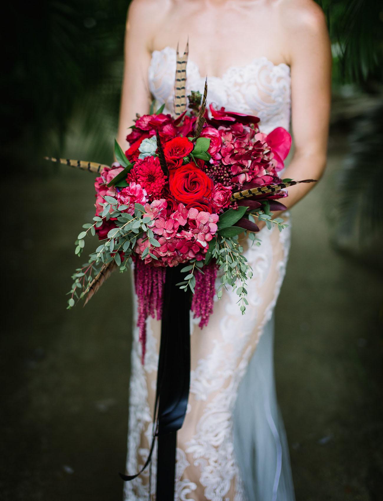 Amazing bridal bouquet