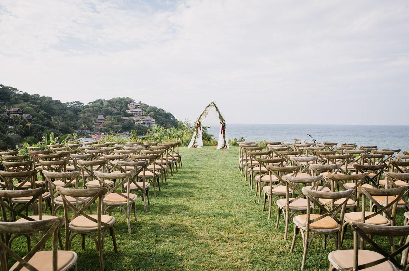 Wedding ceremony in Mexico