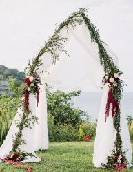 Wedding ceremony altar