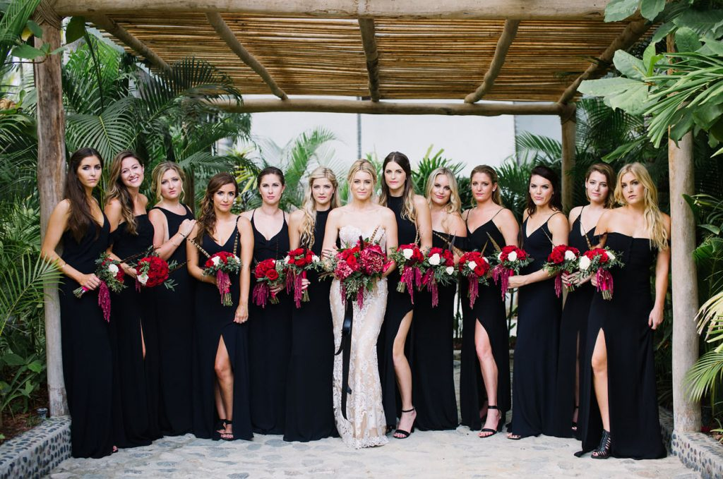 Bridesmaid Dresses Beach Wedding Party