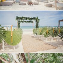 Tamalin and Phillippe's Romantic Wedding in the Tropical Paradise of Tulum