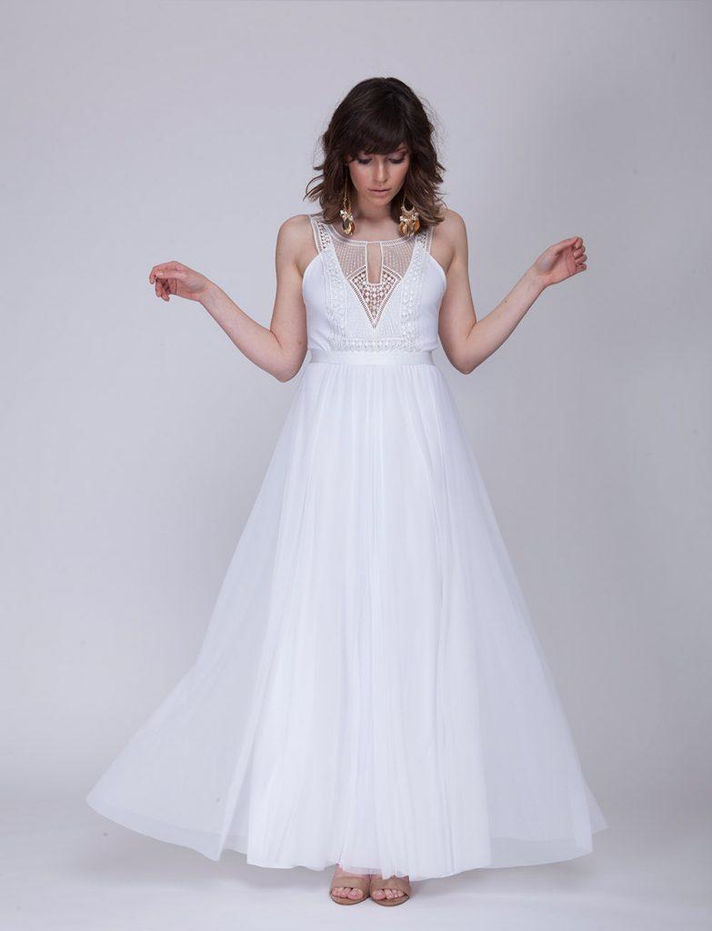 Bohemian wedding dresses made with love beach wedding tips for Made with love wedding dresses