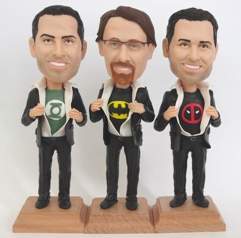 Groomsmen bobblehead dolls