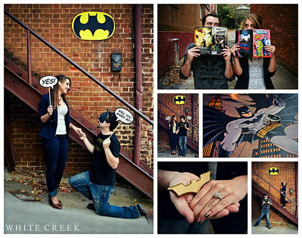 Batman inspired photo shoot