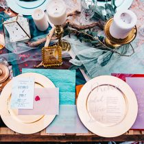The Proper Way to Assemble Your Wedding Invitation Suite